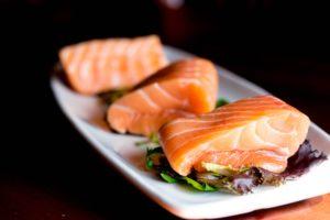 Lomos de salmón