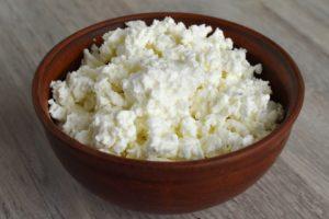 Queso Cottage fuente de proteína