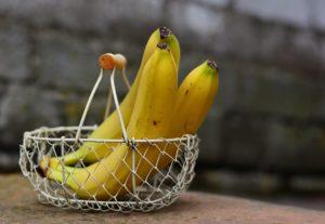 Plátanos fuente de potasio