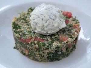 Tartar de quinoa