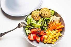 comida sana con grupos alimenticios