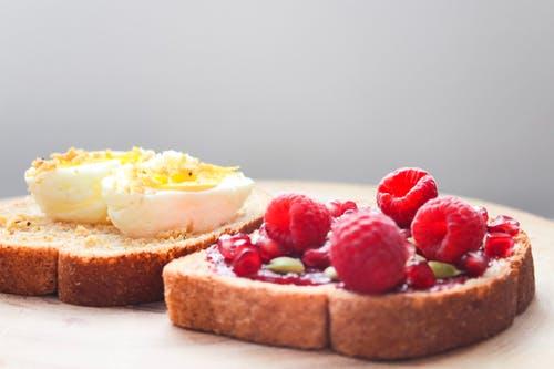 Frutas con huevos