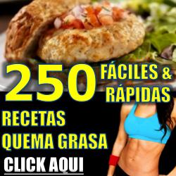 250 recetas quema grasas fáciles y rápidas
