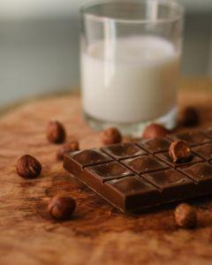 Licuado energético de Chocolate