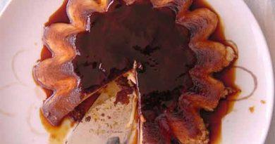 Flan de chocolate con agar agar