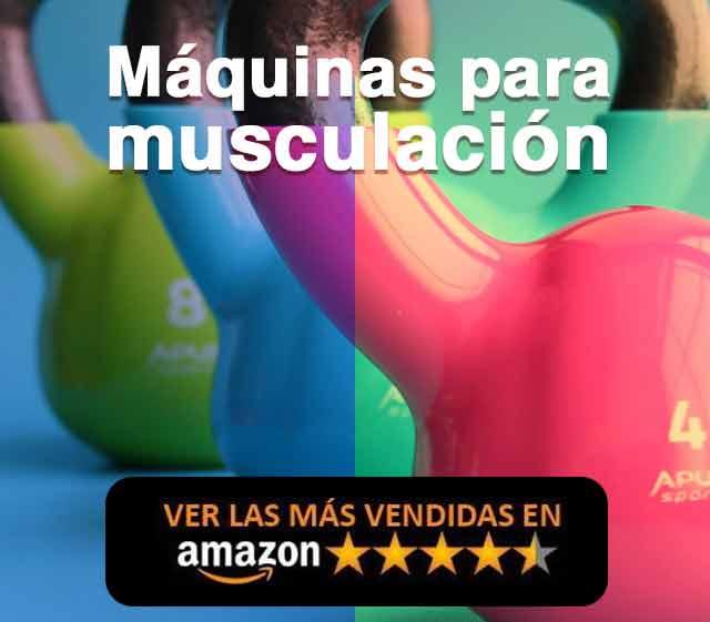 Mejores máquinas musculación Amazon