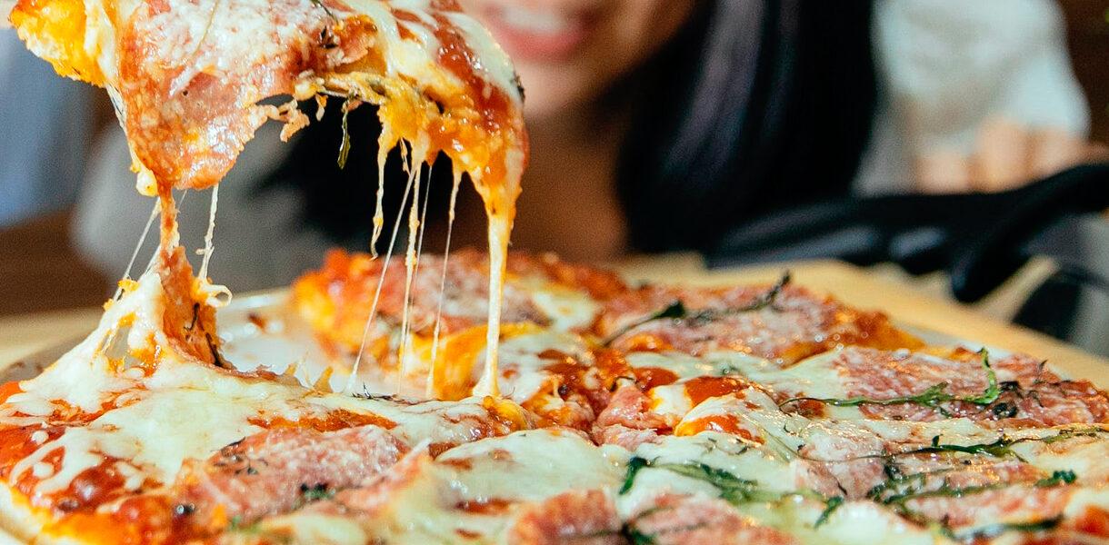 Falsa pizza de coliflor